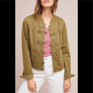 Anthropologie Everly Military Jacket